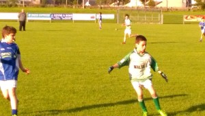 Conor Gavaghan in action for U12s v Kiltimagh