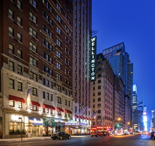 Wellington Hotel New York History